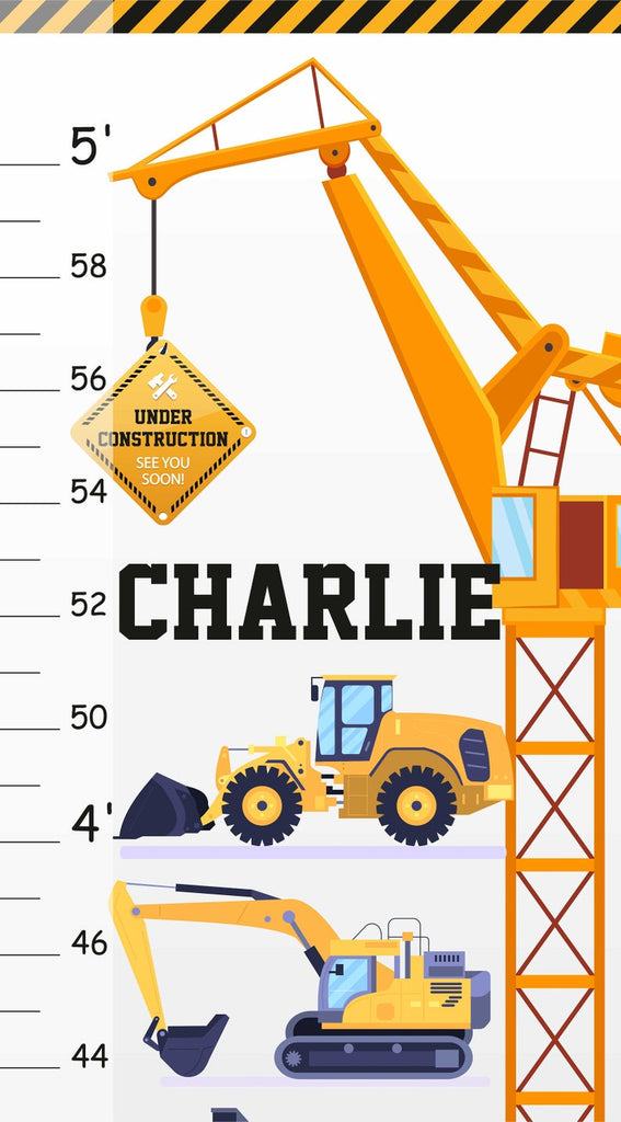 Construction Vehicles Growth Chart