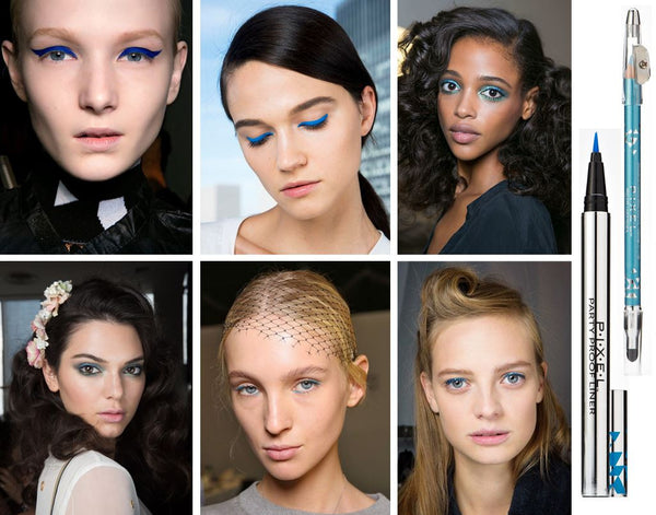 BEAUTY TREND: BLUE EYELINER