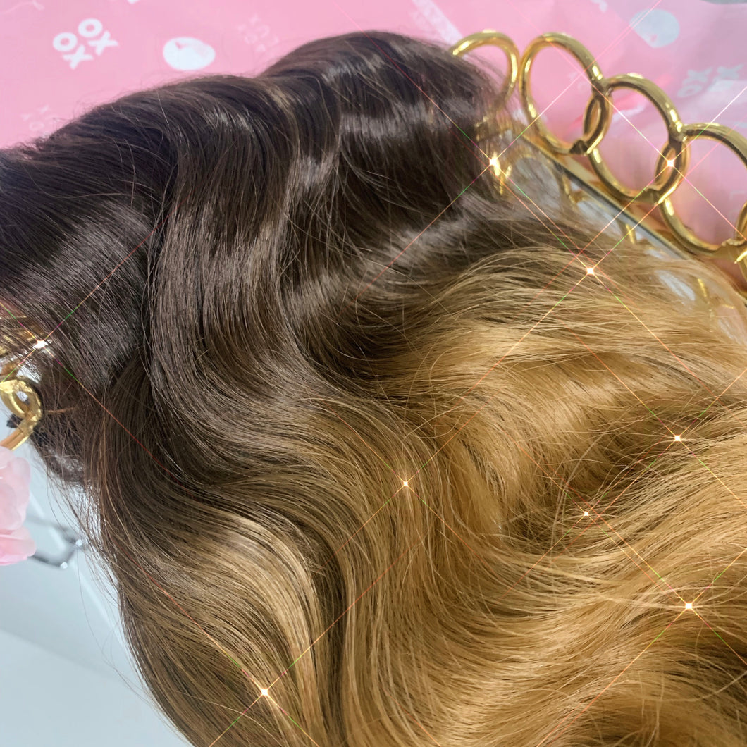 1 Piece Curly Synthetic Clip In Extensions - Ladylux