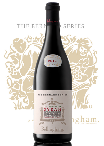 Bernard Series - Organic Syrah (Price per 6 Bottle Case)