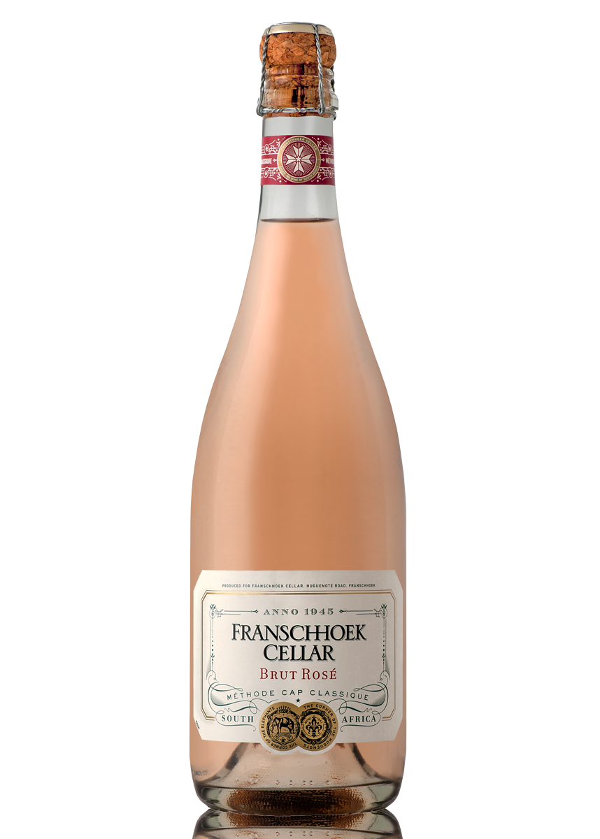 Methode Cap Classique - Franschhoek Cellar Brut Rose (Price per 6 Bottle Case)