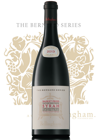 Bernard Series - Basket Press Syrah (Price per 6 Bottle Case)