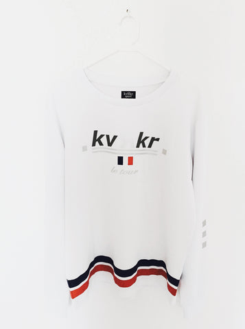 Le Tour White Long Sleeve