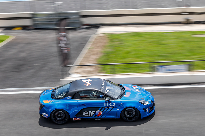 SPAIN: GAËL CASTILLI WINS THE SPANISH CHAPTER OF THE ALPINE ELF CUP!