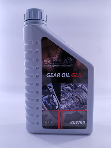ECOLAX 80W90 GEAR OIL GL5X1L
