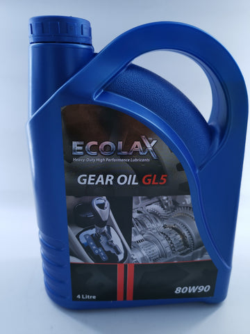 ECOLAX 80W90 GEAR OIL GL5X4L