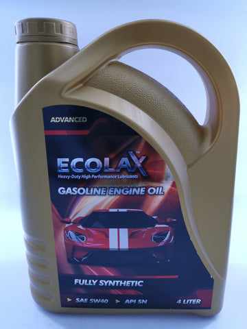 ECOLAX 5W40 FULLY-SYN OIL ADVANCEDX4L