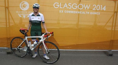 womens cycling at Glasgow