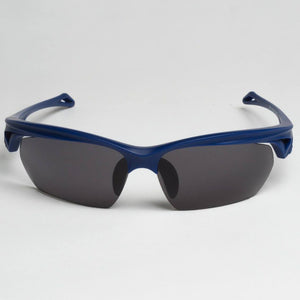 navy blue sunglasses with polarised lenses