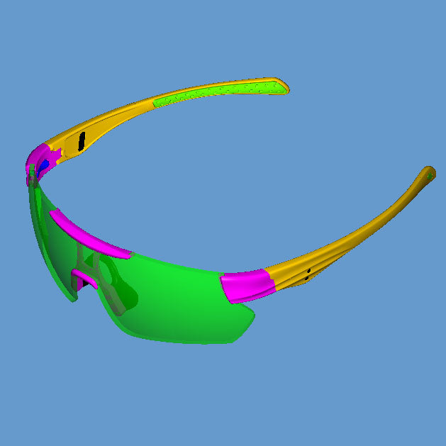 The Eclipse Rimless Sports Sunglasses
