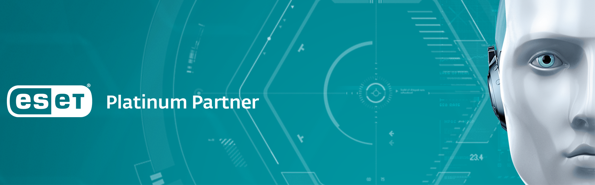 banner ESET ANTIMALWARE BUSINESS SOLUTION PARTNER -voorheen NOD32