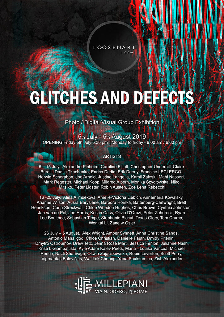 Glitches and Defects poster 42 x 29,7 cm │16,53 x 11,69 inch