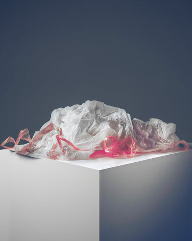"Eva Jova ""Remains, The Plastic Bag"""