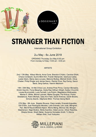 Stranger than Fiction poster 42 x 29,7 cm │16,53 x 11,69 inch