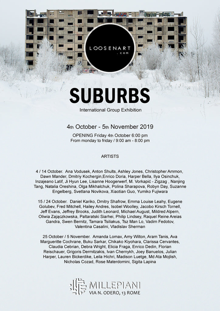 Suburbs Poster 42 x 29,7 cm │16,53 x 11,69 inch
