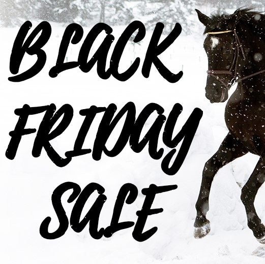 BLACK FRIDAY 2019 - EQUESTRIAN DEALS & DISCOUNTS