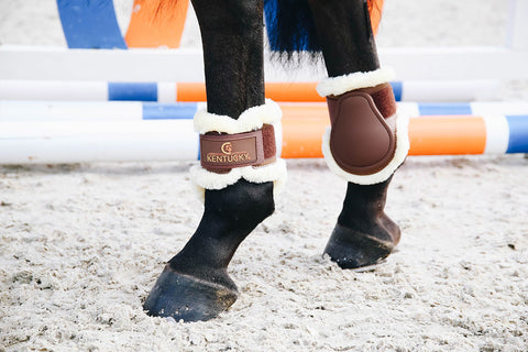 Kentucky hind boots with fake fur
