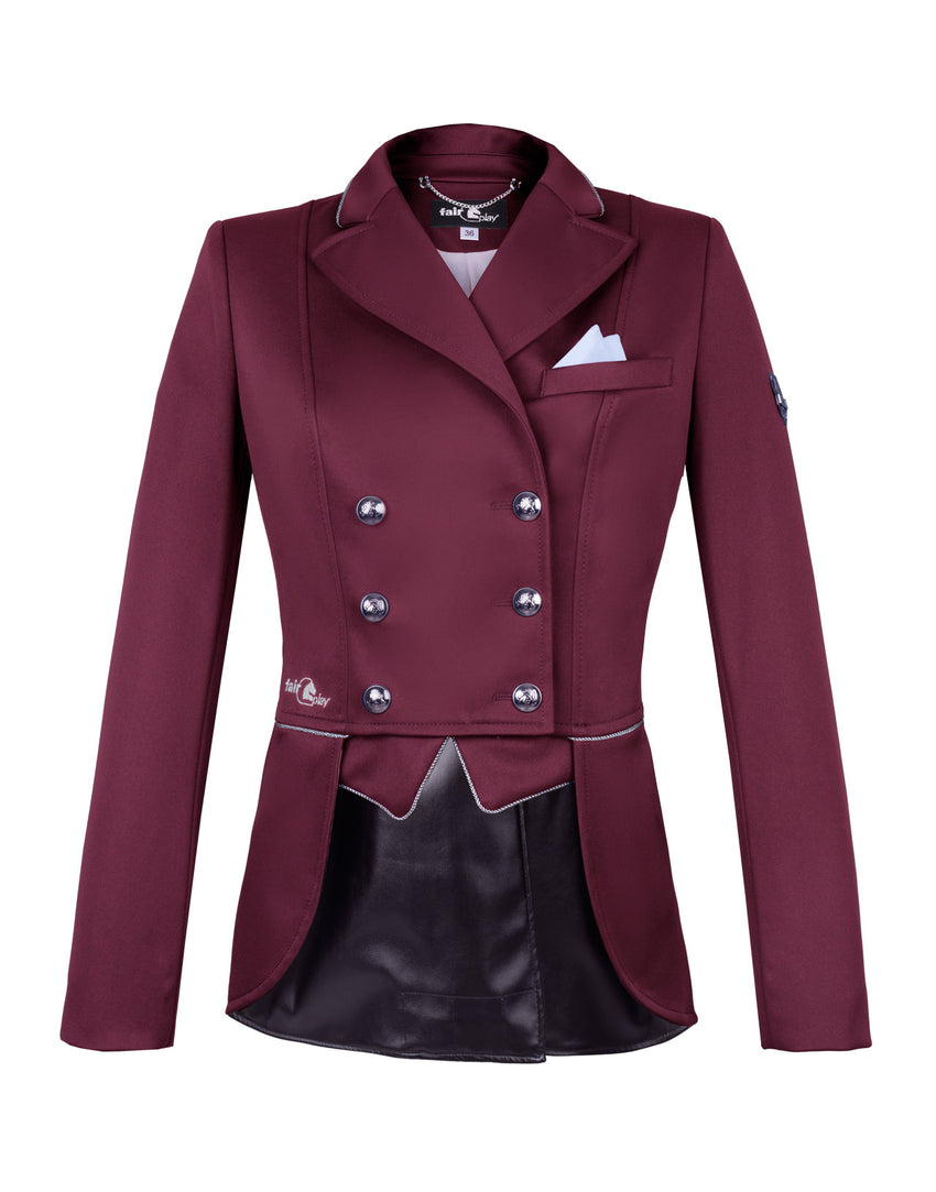 Burgundy Dressage Jacket