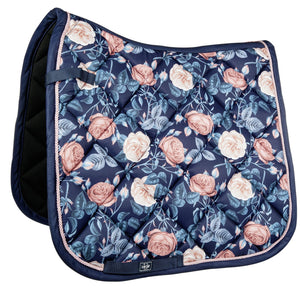Saddle Pad with Flowers