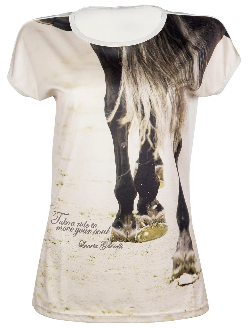 T shirt with horse
