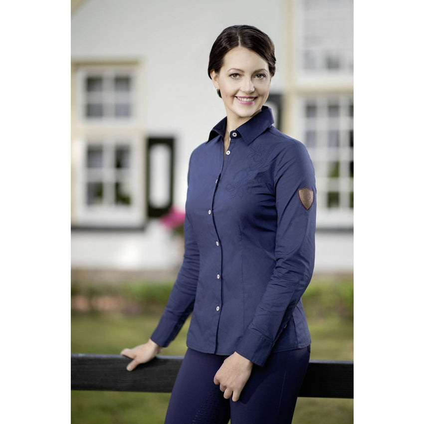 Navy Riding Blouse