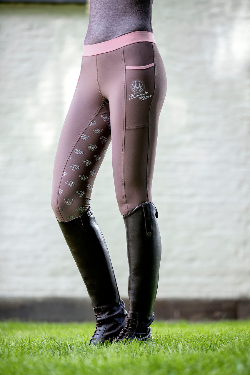 Riding Tights with phone pocket