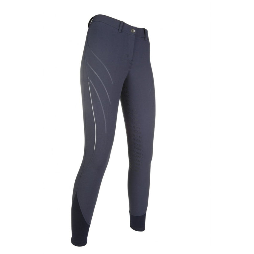 Navy Silicone Full Seat Breeches