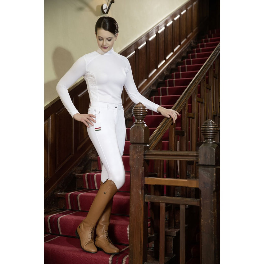 Full Seat White Breeches