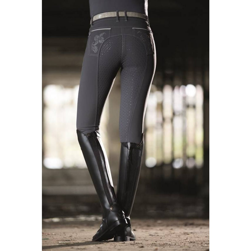 Dark Grey Full Seat Breeches