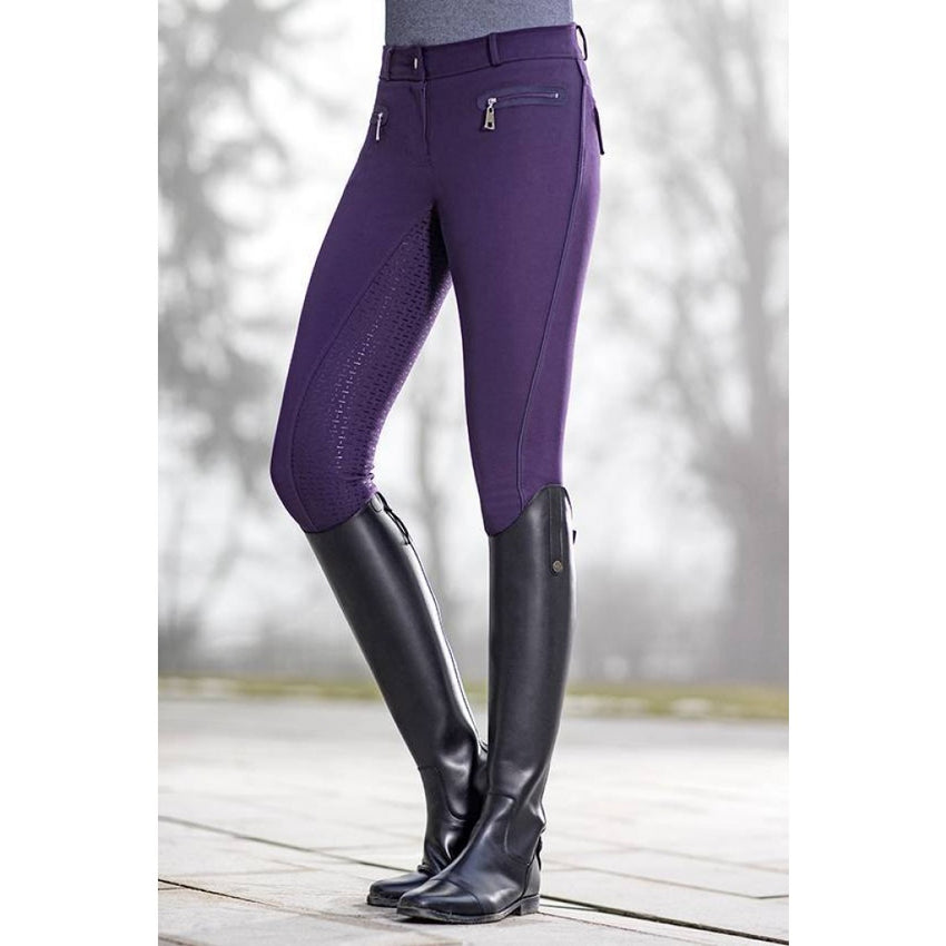 Ladies Breeches Moena May Piping with Full Silicone Seat