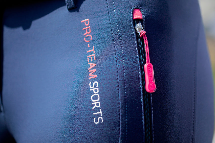 Sporty Navy Breeches