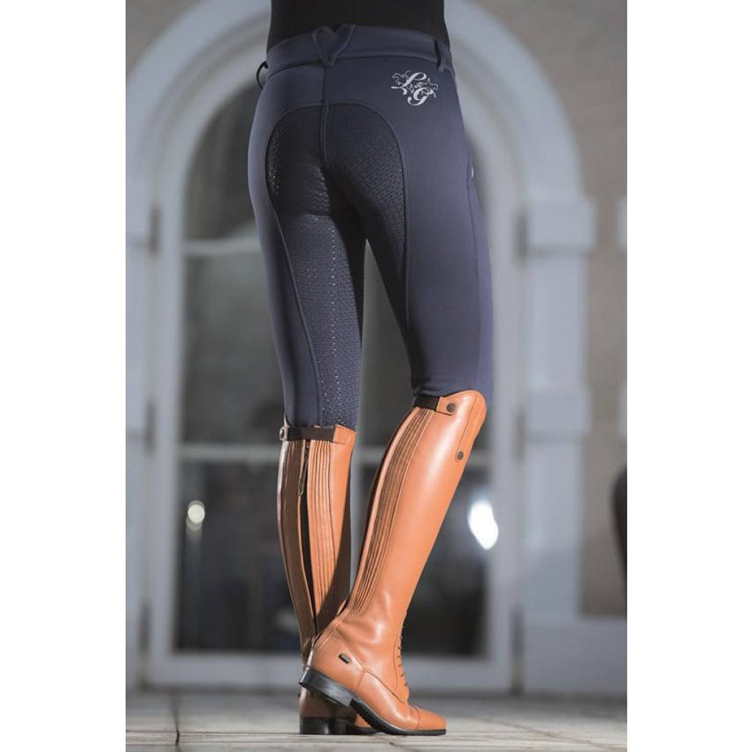 Warm Winter breeches with silicone seat