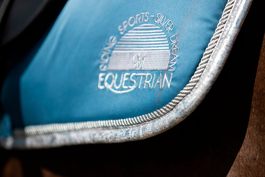 Azure Saddle Pad