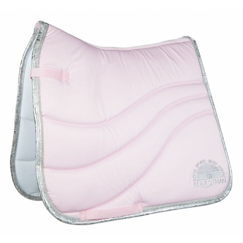 Rose saddle pad