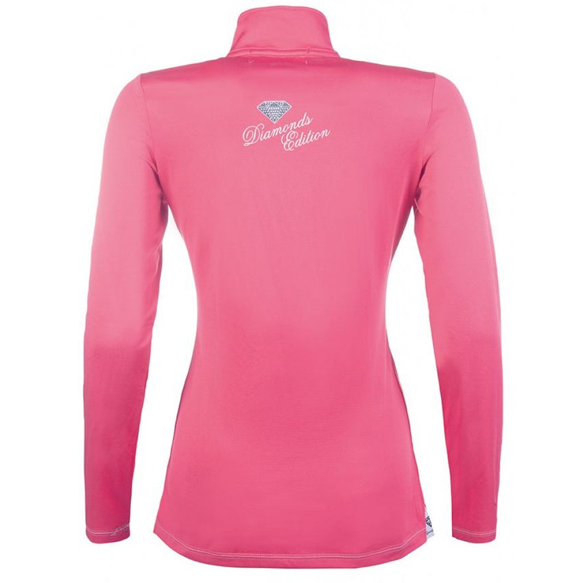 Pink long sleeve base layer