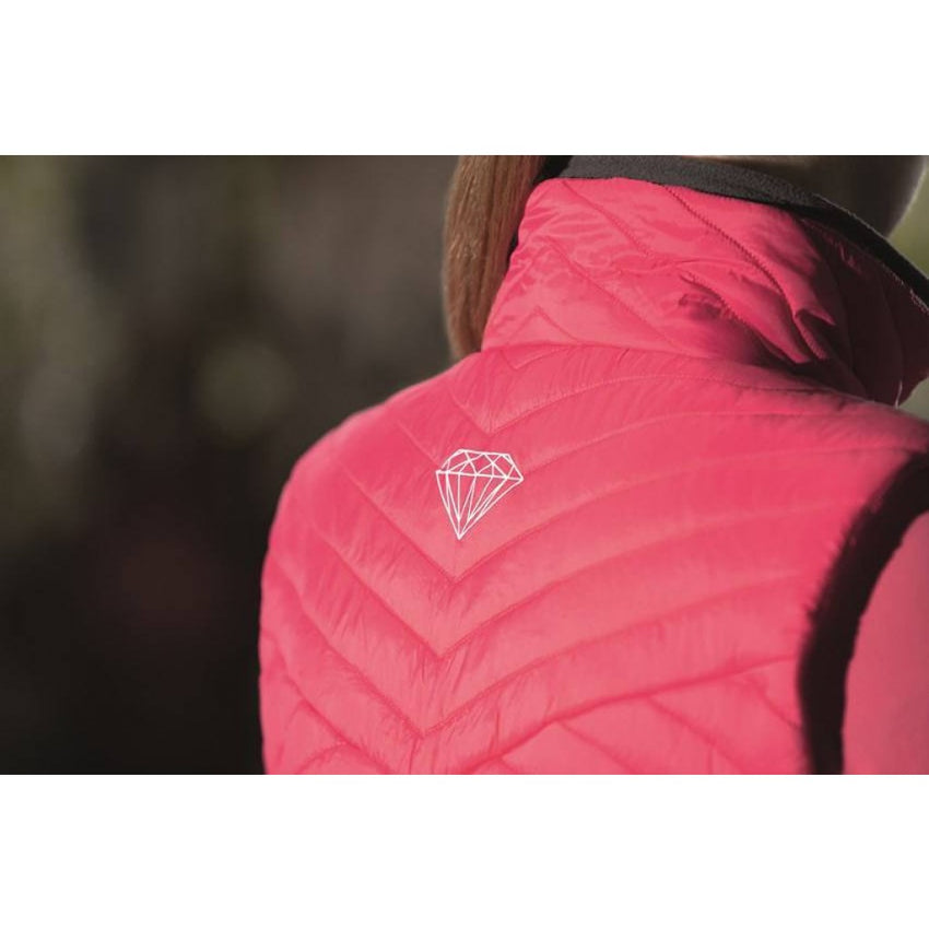 HKM Diamonds Pink Vest