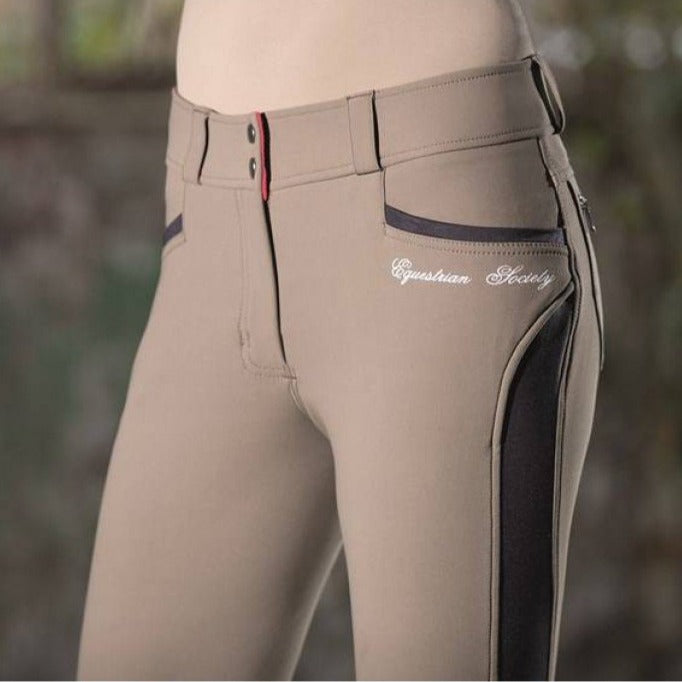 Beige Ladies Breeches