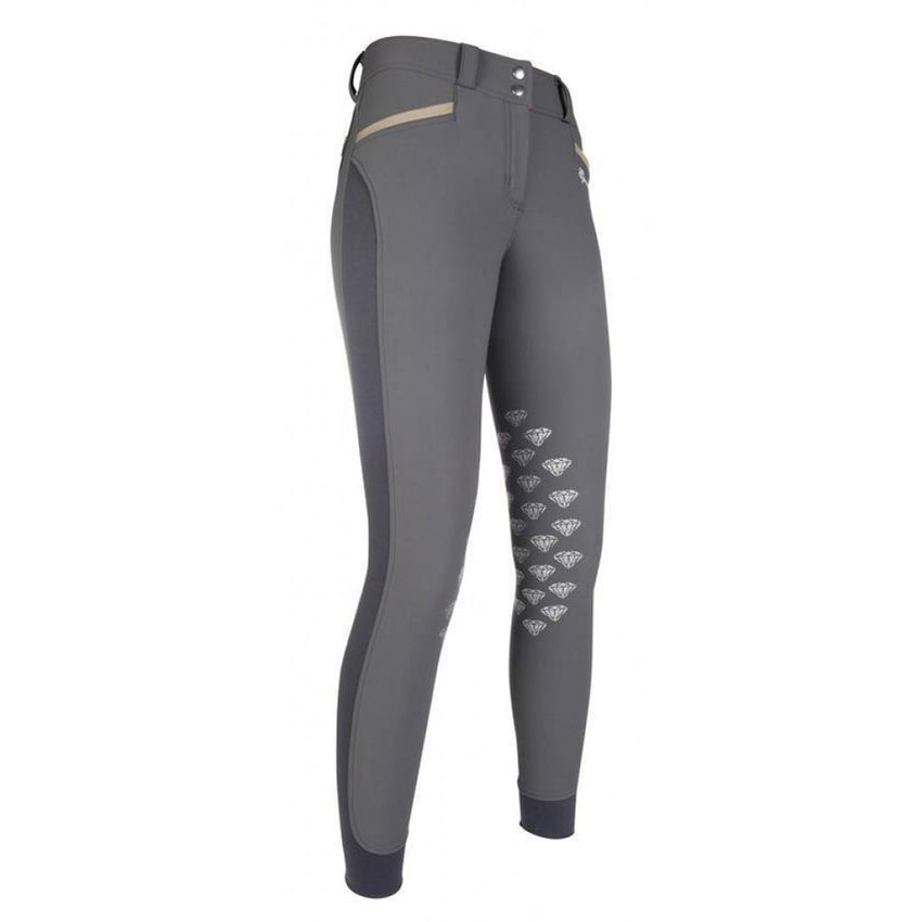 Dark Grey Ladies Breeches