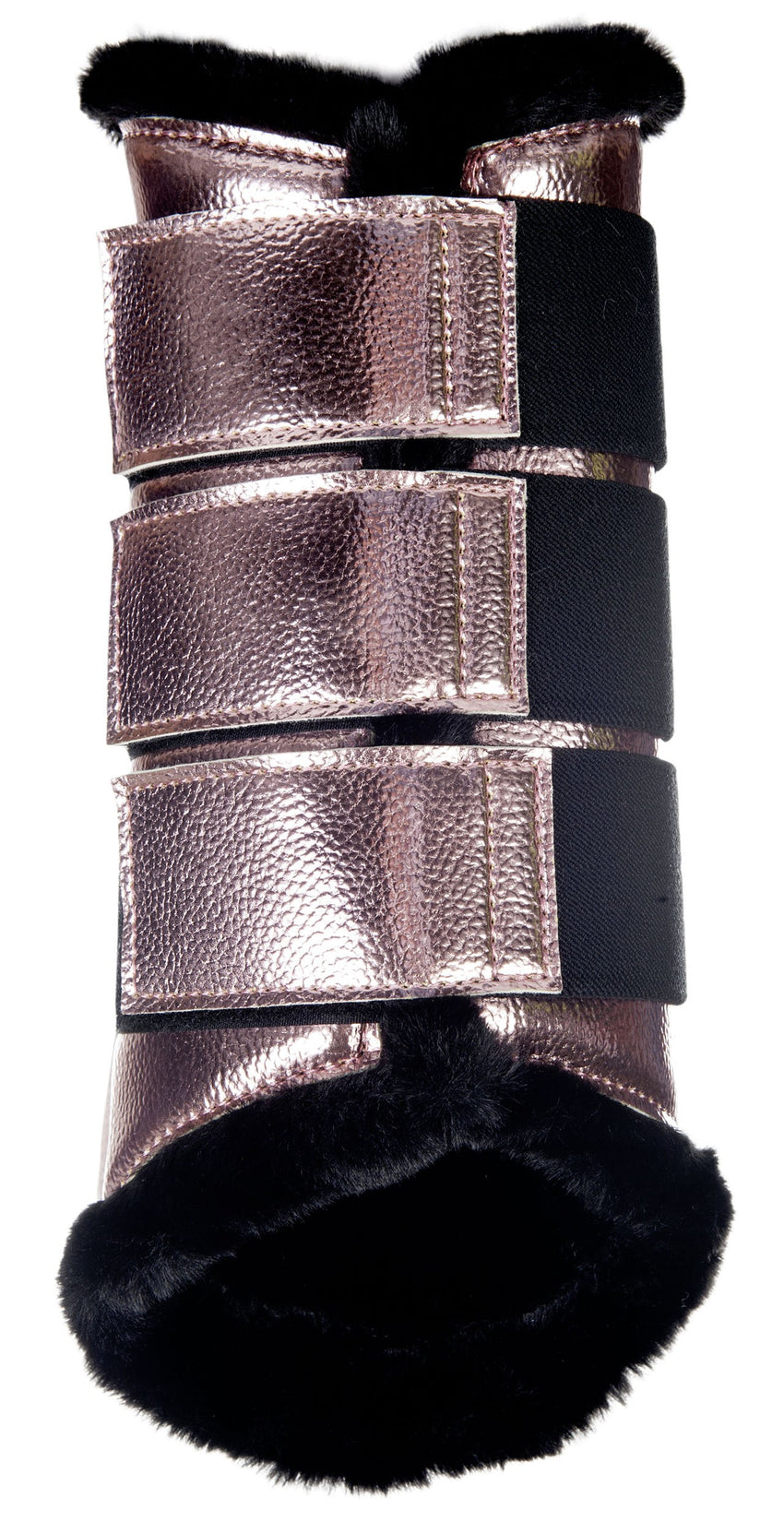 Dressage Protection Boots Metallic