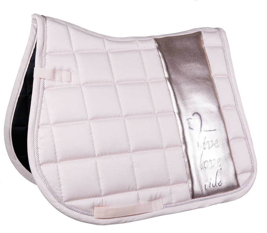 Rose Gold Saddle Pad