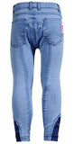 Breeches Wendy Denim with Silicone Knee Patch