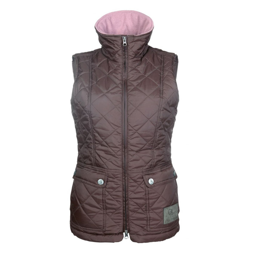 Quilted Riding Gillet