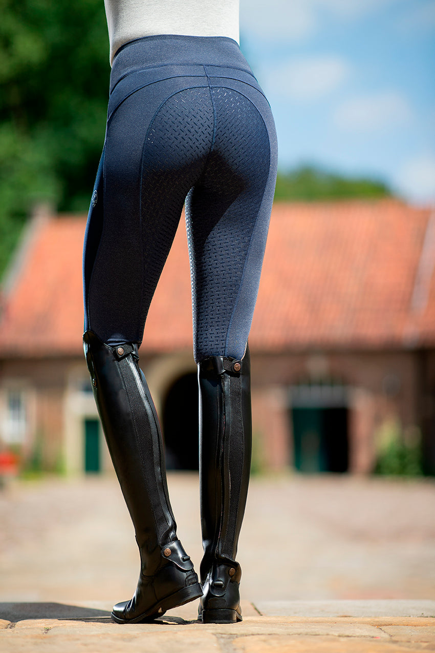 Riding Leggings with silicone seat