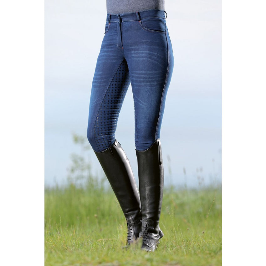 Denim Riding Breeches