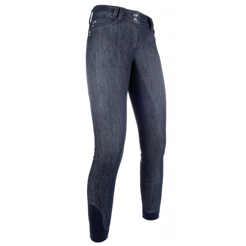 Denim Breeches with full silicone seat