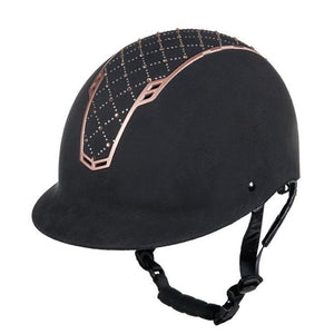 HKM Riding Helmet Linz Style rose gold