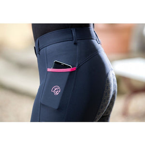 Breeches with phone pocket