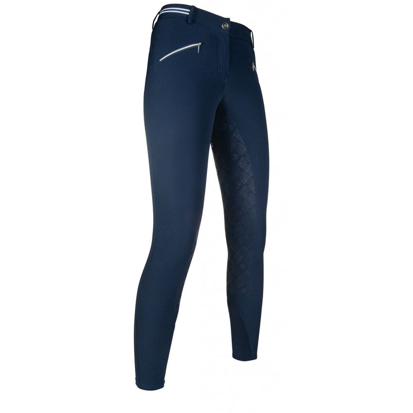 Navy Silicone Full Seat Cheap Breeches