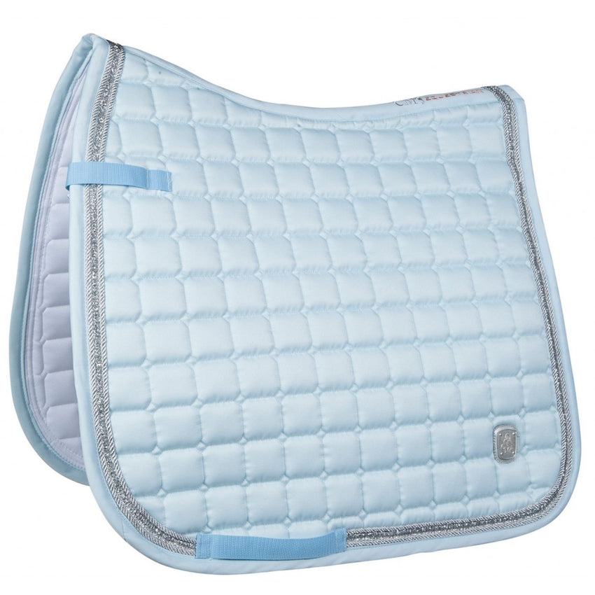 Light Blue Saddle Cloth