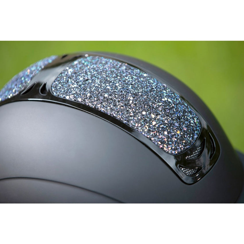 Fancy Riding Helmet with Glitter